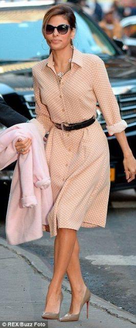 look com vestido vintage