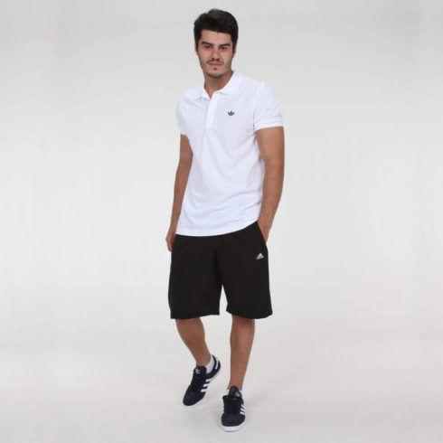 looks com tênis preto masculino