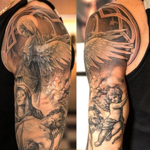 Tatuagem De Anjo Inspire Se Com Mais De 45 Fotos E Ideias
