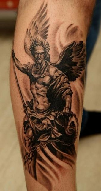 Tatuagem masculina.