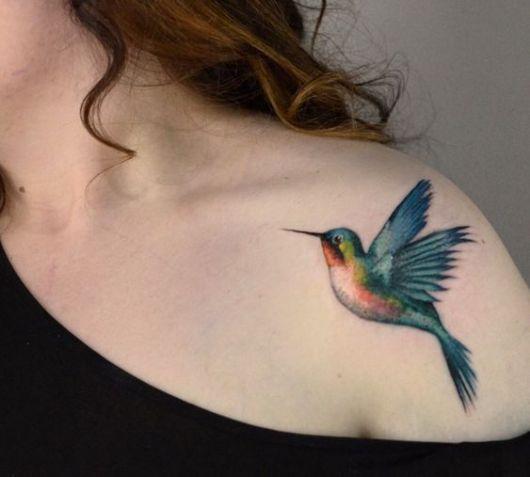 Tatuagem de beija flor significados e 57 ideias incr veis para a nova tattoo - Signification hibou tatouage ...