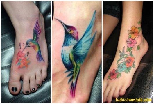 ideias para tatuagem no pé