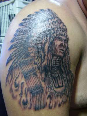 tatuagem pajé