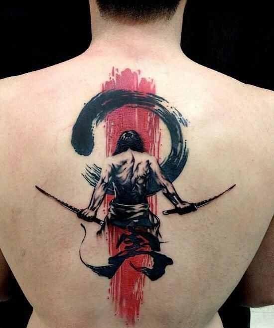 tatuagem samurai