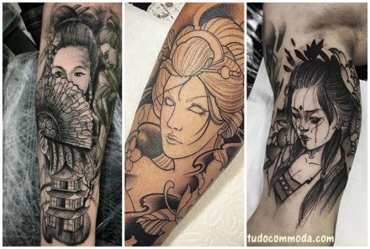 tatuagem oriental homem