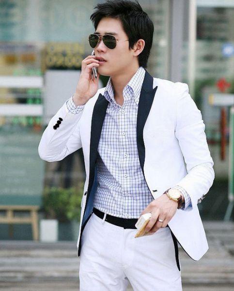 blazer masculino slim moderno