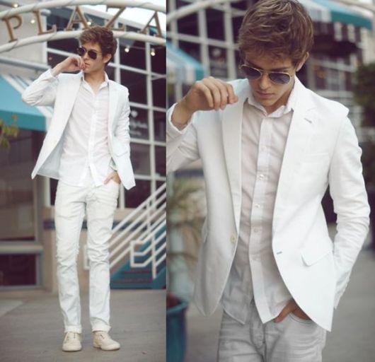 blazer masculino slim com jeans