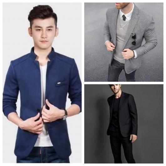 blazer masculino slim