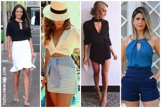 Blusa Decotada – Como Usar com 63 Looks & Modelos de Cair o Queixo!