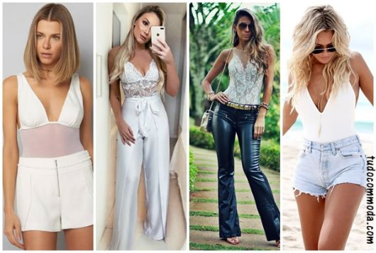 Como Usar Body Branco – Dicas de Ouro & Looks para se Inspirar!