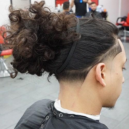 cabelo crespo longo