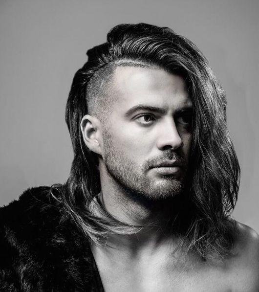 cabelo grande masculino