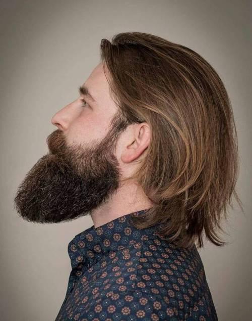 cabelo grande masculino liso