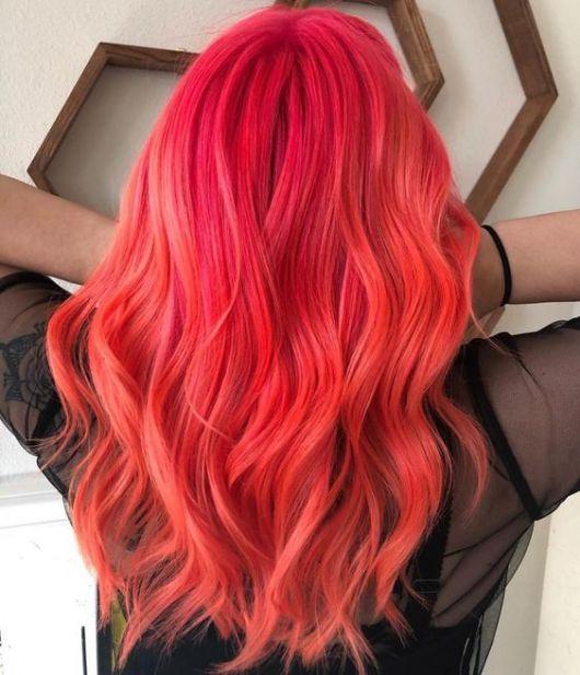 cabelo rosado