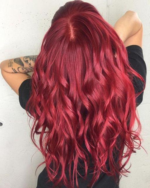 vermelho rosado