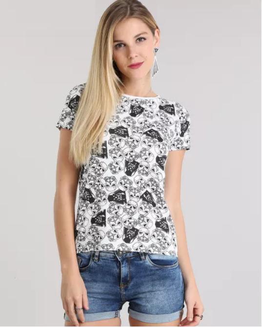 0d5c273ad Camiseta Star Wars Feminina  Modelos Lindos e Dicas de Look!