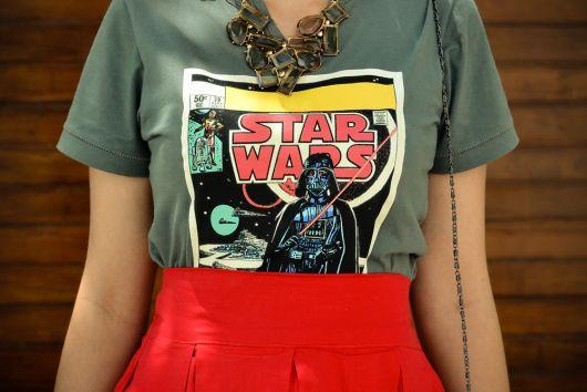 camiseta star wars feminina da riachuello