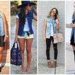 40 Looks com Colete Jeans Comprido – Como Usar & Dicas Imperdíveis!