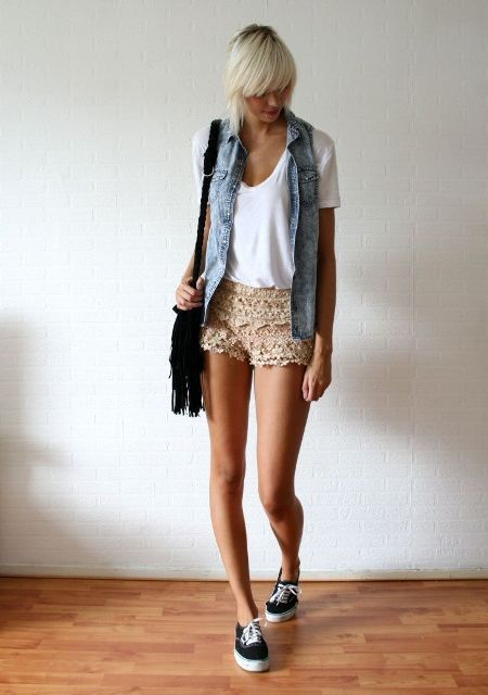 look com short de renda