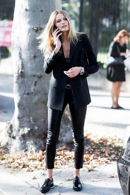 look feminino com blazer