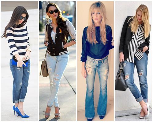 Looks para balada com calça jeans.