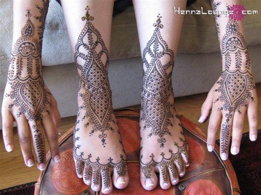 Desenhos Mehndi Significado : Tatuagem indiana significados modelos para você se inspirar