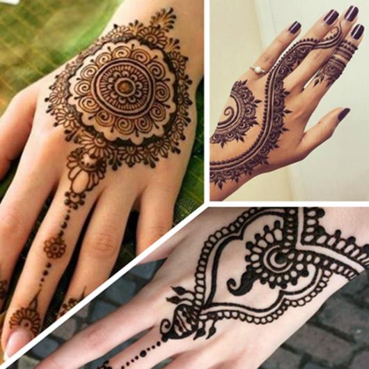 tatuagem mehndi em mulheres