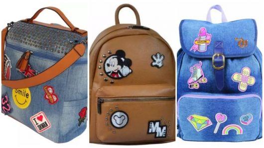 veja onde comprar mochilas com patches