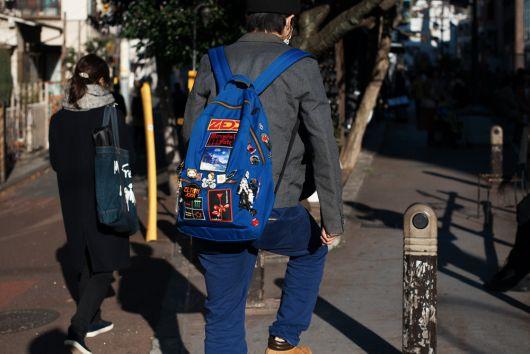 As  mochilas com patches são ótimas para o dia a dia