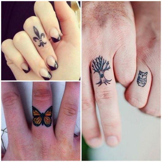 dica de tatuagem no dedo