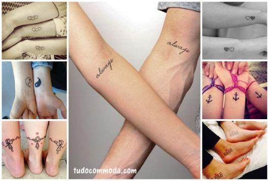 Tatuagem de Amizade – As 84 Ideias Mais Lindas & Criativas de Todas!