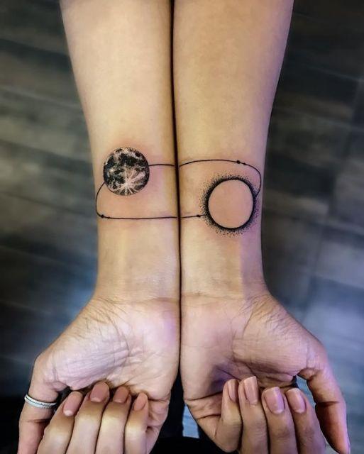 tatuagem que se completa