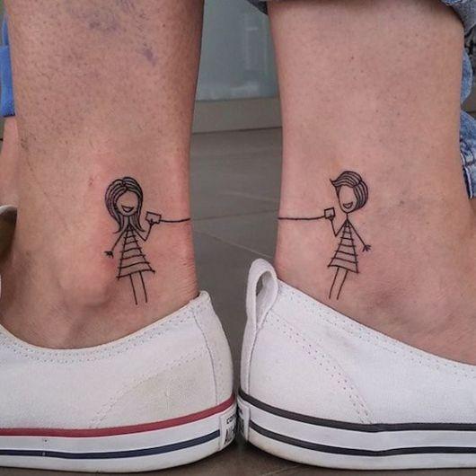 tatuagem divertida