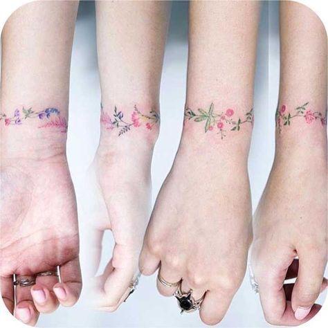 tatuagem delicada e pequena feminina