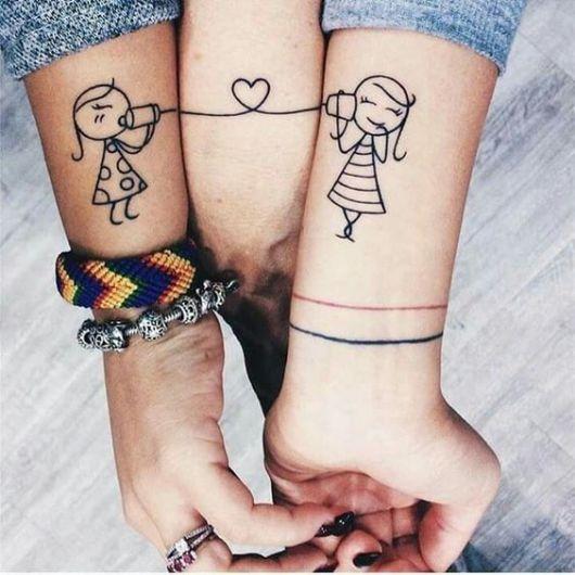 tatuagem criativa feminina