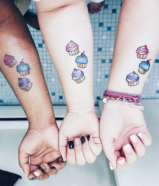 tatuagem delicada e divertida