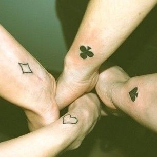tatuagem amigos homens