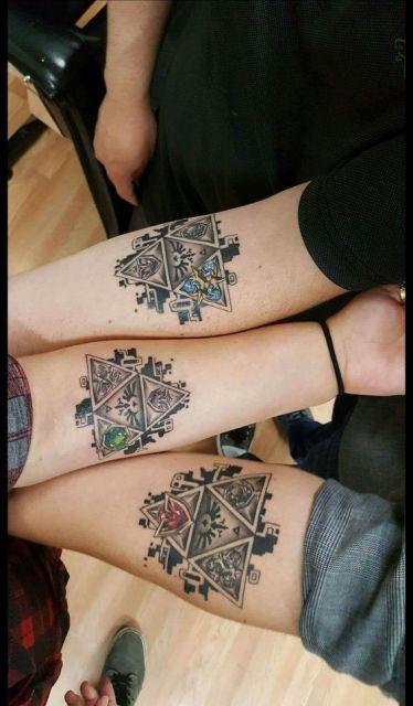 tatuagem triângulo
