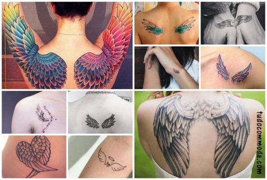 Tatuagem de Asas – Significados e 61 Ideias Super Criativas e Lindas!