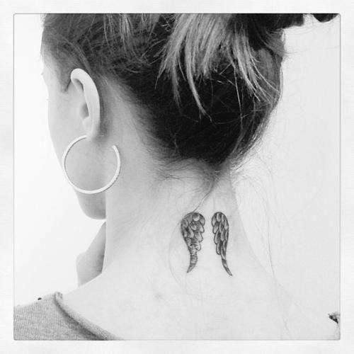 Most Beautiful Neck Tattoos: Significados E 61 Ideias Super