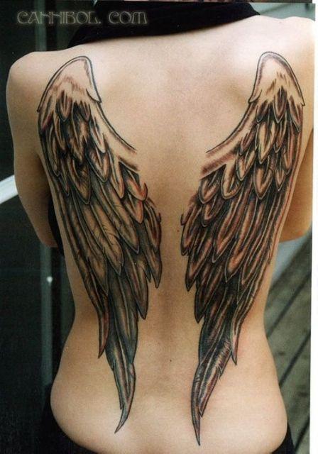 Tatuagem De Asas Significados E 61 Ideias Super Criativas