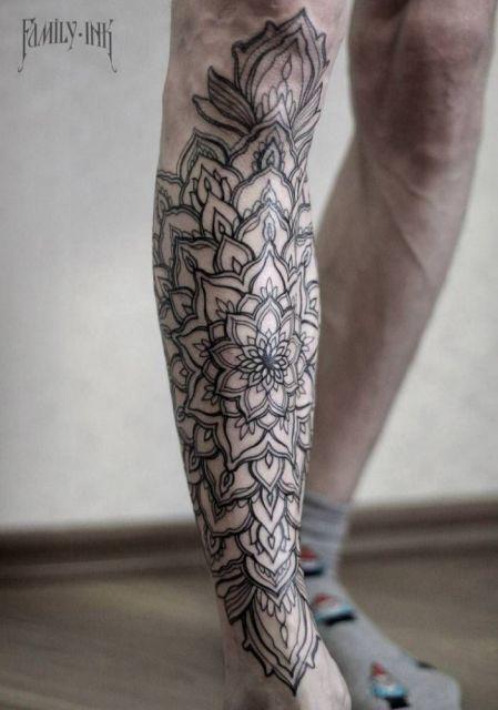 tatuagem indiana masculina
