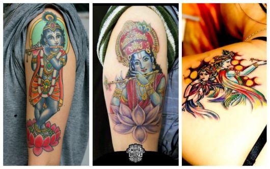 tatuagem krishna