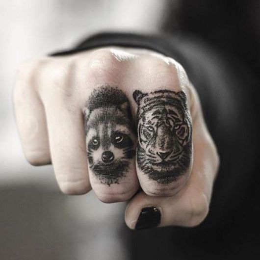 tatuagem no dedo masculina