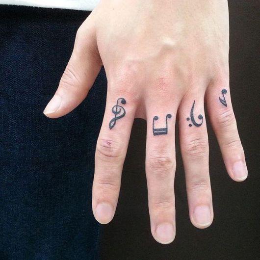 Tattoo Para quem ama música