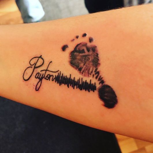 tatuagem para filhos feminina