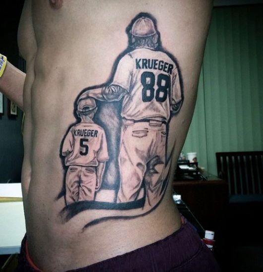 tatuagem para filhos masculina