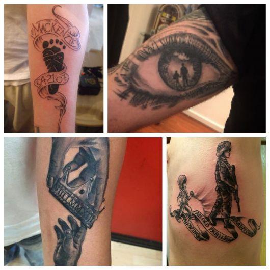 tatuagem para filhos