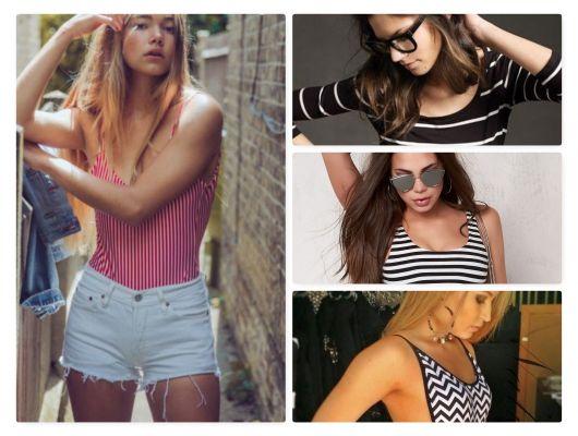 Body Listrado – 30 Modelos Lindíssimos & Dicas de Looks Incríveis!