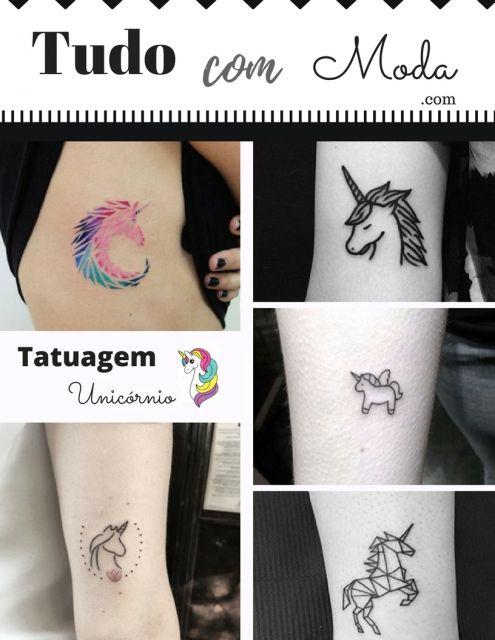 Tatuagem Unicórnio: Significado & + de 30 inspirações sensacionais!